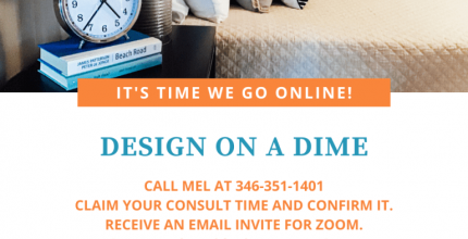 Design on a Dime Now Offering Virtual Consultations